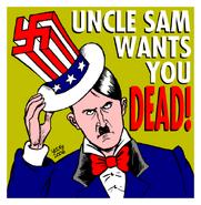 Caricature Hitler