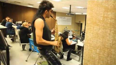 Sexy Sax Man Careless Whisper Prank feat