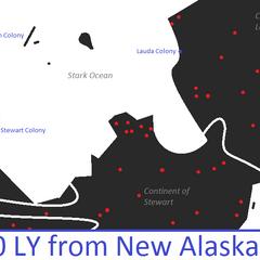 Alaskan colony of Outreach