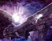 Spaceship by perkan