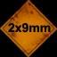2x9mm