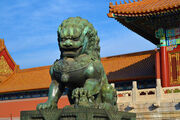 Forbidden city lions3