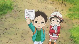 Natsume Yuujinchou - OAD children with errand list
