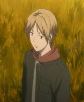 Natsume wondering how long a walk can take while looking for nyanko