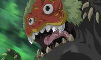 Evil youkai-shi