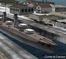 Conte di Cavour-class Battleship
