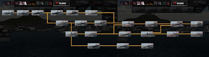 RN ship tree