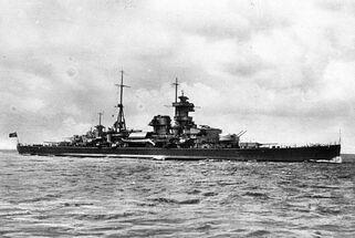 Bundesarchiv DVM 10 Bild-23-63-24, Schwerer Kreuzer -Admiral Hipper-