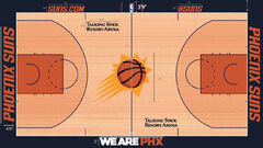 Phoenix Suns home court design 2015-16
