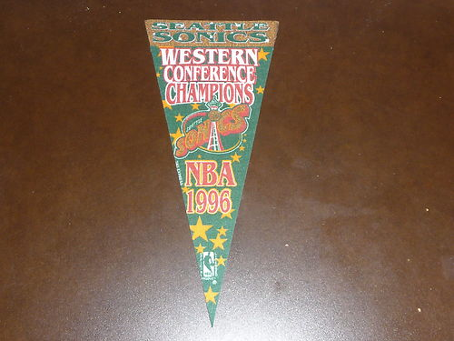 File:1996 Seattle Sonics Western Conference Champions Mini Pennant.jpg