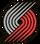 Portland Trail Blazers alternate logo