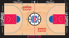 Los Angeles Clippers home court design 2015-16