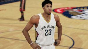 NBA 2K15 Anthony Davis
