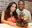 Gallery:Chris and Adrienne Bosh