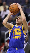 Stephen Curry shooting