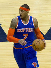 Carmelo Anthony March 2013