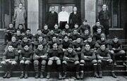 Old college football team
