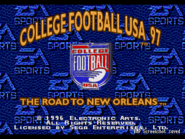 College Football USA 97 - The Road to New Orleans 0