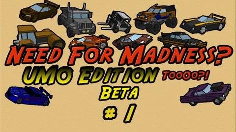 Let's Play Need For Madness 2 UMO Edition 2 BETA - PART 1 A New Beginning By Ultimato-0