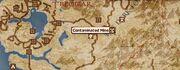 Contaminated Mine Location