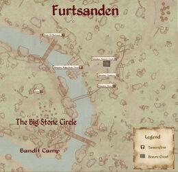 Furtsanden Map