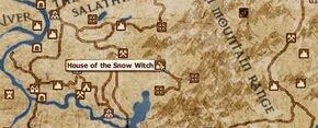 Snow Witch House Location