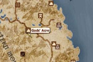 God Acre location