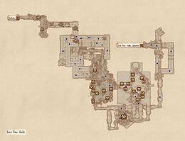 Iron Fire Halls map