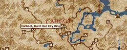Cahbaet Burnt Out City Ring Location