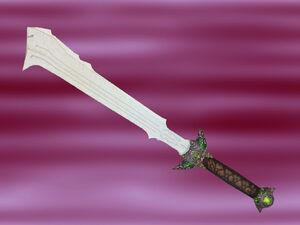 Thorium enhanced sword