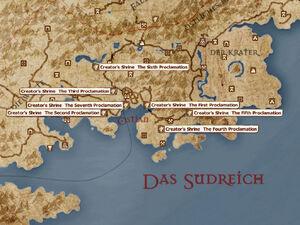Shrines Map