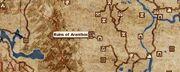 Ruins of Aranthos Location