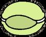 Cat macaroon green