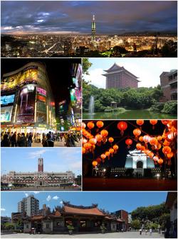 Taipei montage