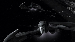 Cylon Raider From The Plan