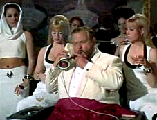 Orson Welles As Le Chiffre in Casino Royale (1967)