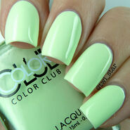 Color Club Poptastic Pastel Til The Record 01