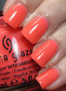 China Glaze Shell-o 1