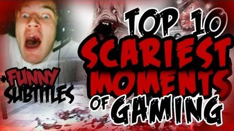 FUNNY Top 10 Scariest Moments Of Gaming w PewDiePie (300th VIDEO SPECIAL) D