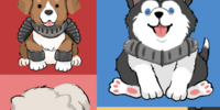Pups Of The Round Table