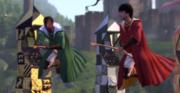 Bernie's Quidditch match