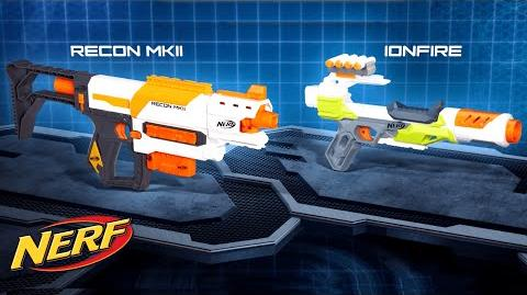 NERF - 'N-Strike Modulus Recon MKII & IonFire Blaster' Official T.V