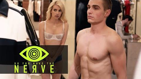 Nerve (2016 Movie) - Emma Roberts and Dave Franco 'Streaking At Bergdorf' Behind The Scenes