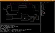 Screenshot-pdcurses-linux