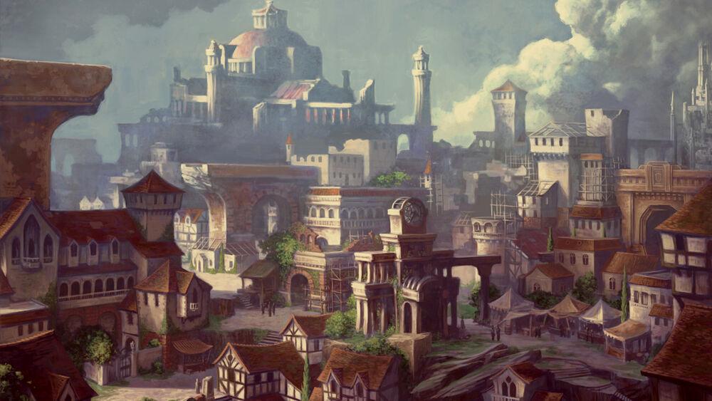 Neverwinter city