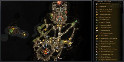NW PE Map