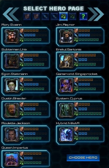 Intelligence Heroes Page 1