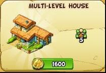 Multi-level house new