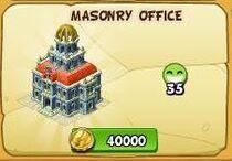 Masonry Office new
