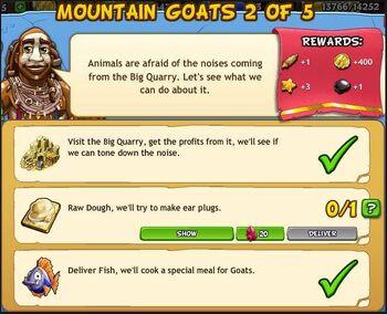 Mountain goats 2 of 5